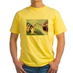Creation / Collie Yellow T-Shirt