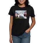 Creation / Collie Women's Dark T-Shirt
