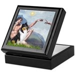 Creation / Collie Keepsake Box