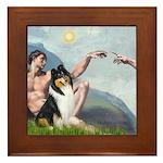 Creation / Collie Framed Tile