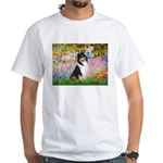 Garden / Collie White T-Shirt