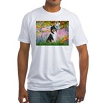 Garden / Collie Fitted T-Shirt