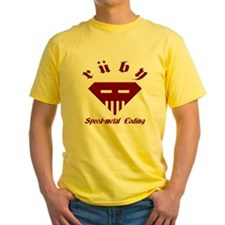Speed-metal Ruby Yellow T-Shirt