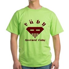 Speed-metal Ruby Green T-Shirt