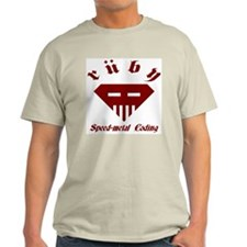 Speed-metal Ruby Light T-Shirt