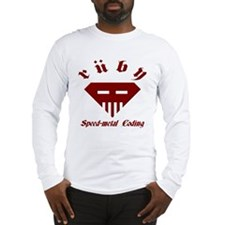 Speed-metal Ruby Long Sleeve T-Shirt