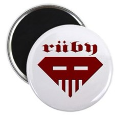Speed-metal Ruby Magnet