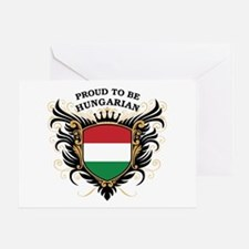 Proud to be Hungarian Greeting Card