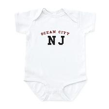 Ocean City NJ T-shirts Infant Bodysuit