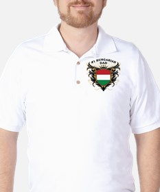 Number One Hungarian Dad T-Shirt