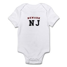 Newark NJ T-shirts Infant Bodysuit