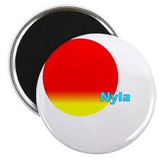 "Nyla 2.25"" Magnet (10 pack)"