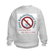 Java Rehab Clinic Kids Sweatshirt