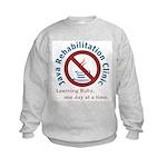 Java Rehab Clinic Kids Sweatshirt