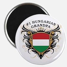 Number One Hungarian Grandpa Magnet