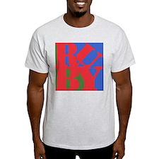 Ruby Love Ash Grey T-Shirt
