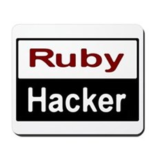Ruby hacker Mousepad