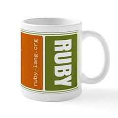 Use Ruby, be happy! Mug