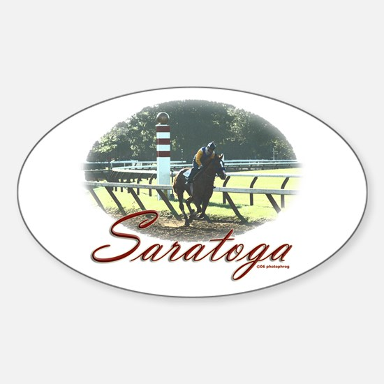Saratoga Stretch Oval Decal