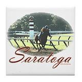 Horse racing Tile Coasters
