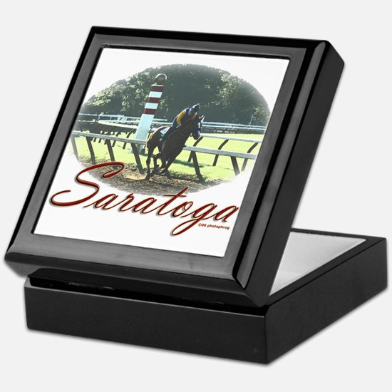 Saratoga Stretch Keepsake Box