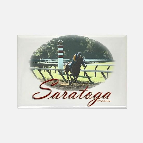 Saratoga Stretch Rectangle Magnet
