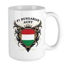 Number One Hungarian Aunt Mug