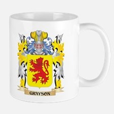 Grayson Coat of Arms - Family Crest Mugs