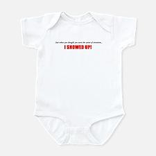 Center Of Attention, Until I Showed Up Infant Body