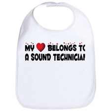 Belongs To A Sound Technician Bib