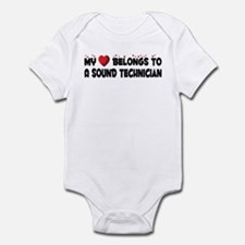 Belongs To A Sound Technician Infant Bodysuit
