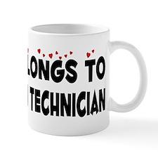 Belongs To A Sonogram Technician Mug
