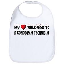 Belongs To A Sonogram Technician Bib