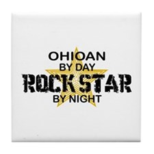 Ohioan Rock Star Tile Coaster