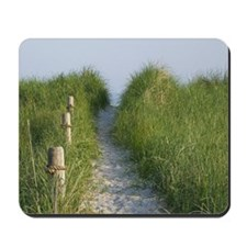New England Coastal Dune Path Mousepad