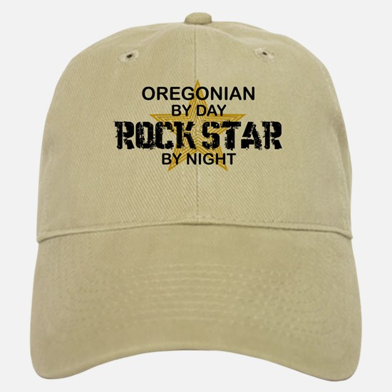Oregonian Rock Star Baseball Baseball Cap