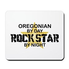 Oregonian Rock Star Mousepad