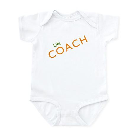 Life Coach: Orange Infant Bodysuit