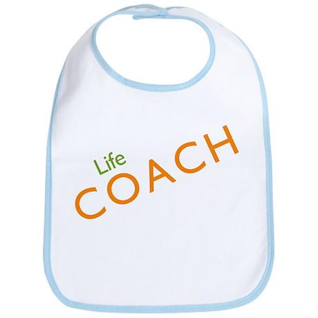 Life Coach: Orange Bib