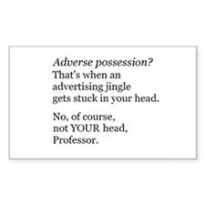 Adverse Possession Decal