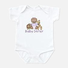 Critter Friends Baby Sister (AF) Infant Bodysuit