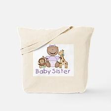 Critter Friends Baby Sister (AF) Tote Bag