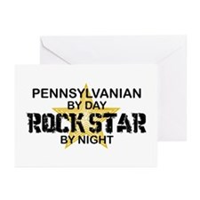Pennsylvanian Rock Star Greeting Cards (Pk of 10)