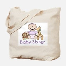 Critter Friends Baby Sister Tote Bag