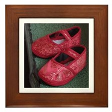Framed Tile - Chinese Slippers
