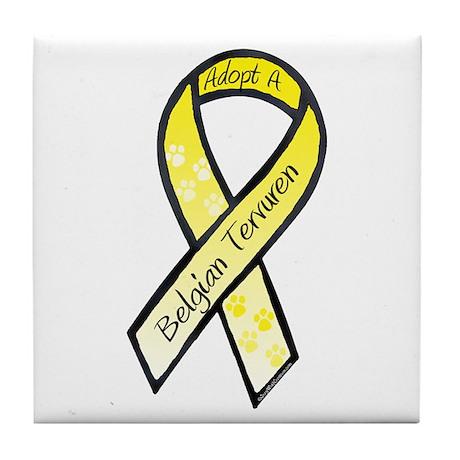 Terv RibbonC Tile Coaster