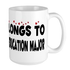 Belongs To A Social Science Education Major Mug