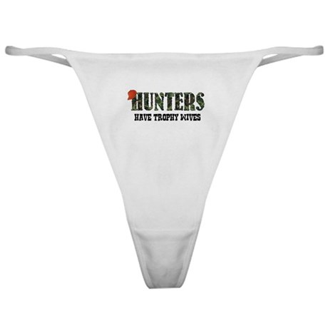 Hunter Trophy Wife Classic Thong