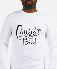 Cougar On The Prowl Long Sleeve T-Shirt