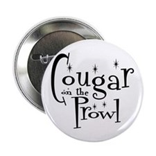 "Cougar On The Prowl 2.25"" Button"